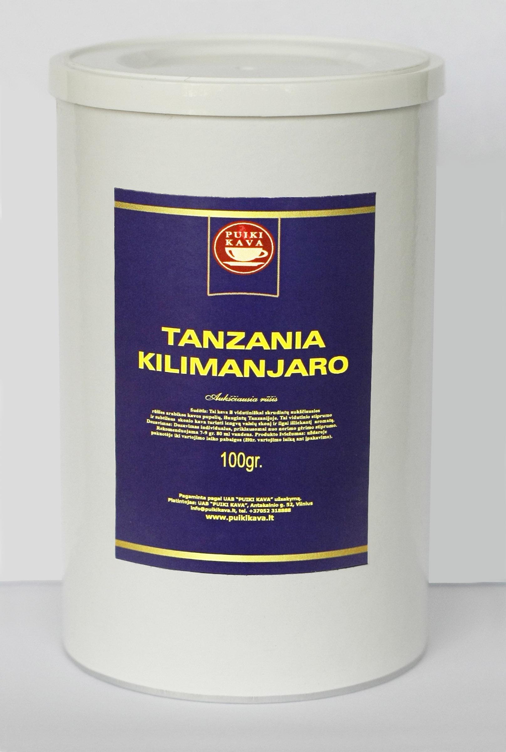 Malta kava TANZANIA KILIMANJARO 100gr.