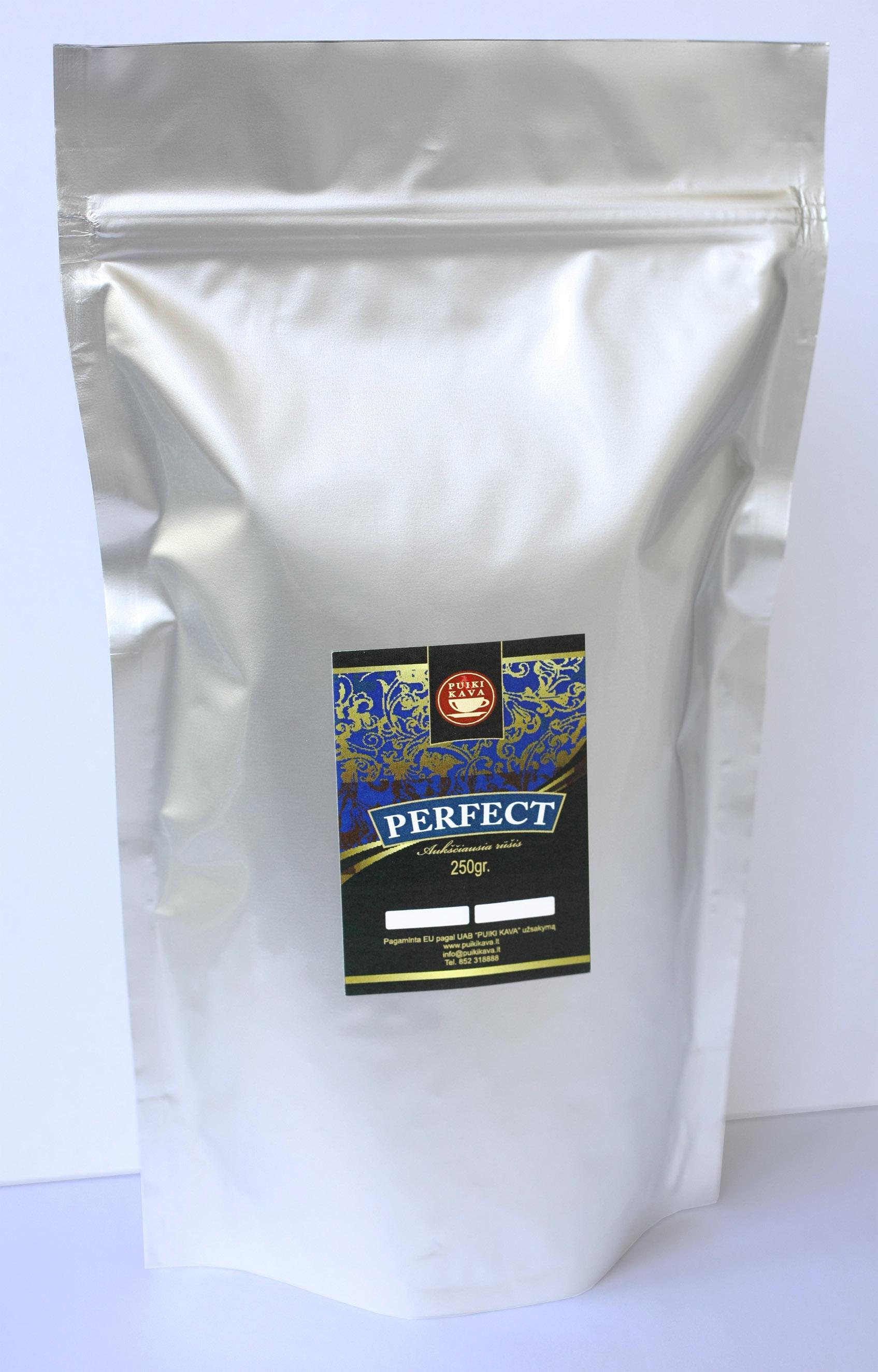 Kavos pupelės PERFECT 250gr