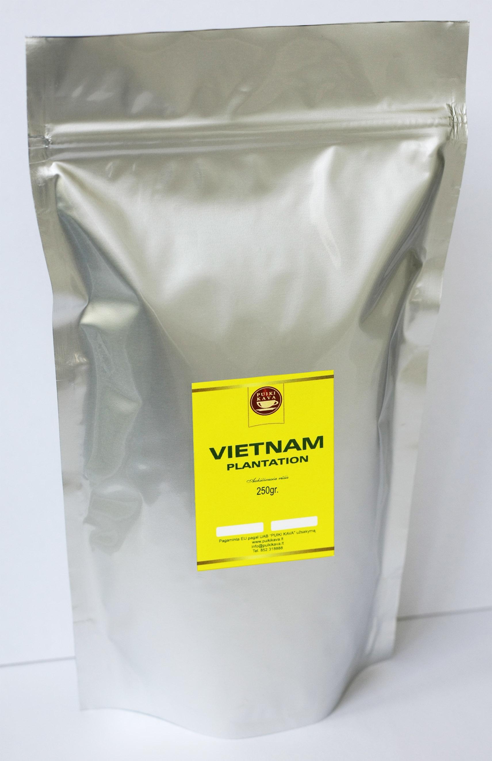 Kavos pupelės VIETNAM 250gr