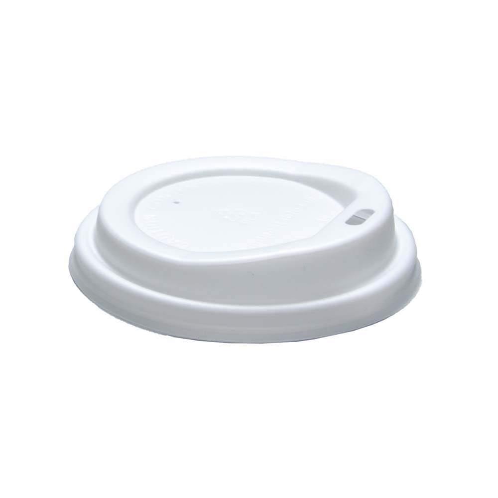 Plastikinis dangtelis popieriniam puodeliui 8oz. 100vnt pakuotėje.